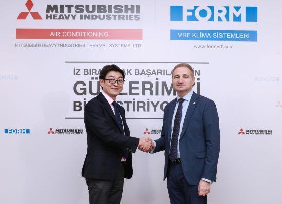 Form Şirketler Grubu ile Mitsubishi Heavy Industries Ortaklık Anlaşması İmzaladı