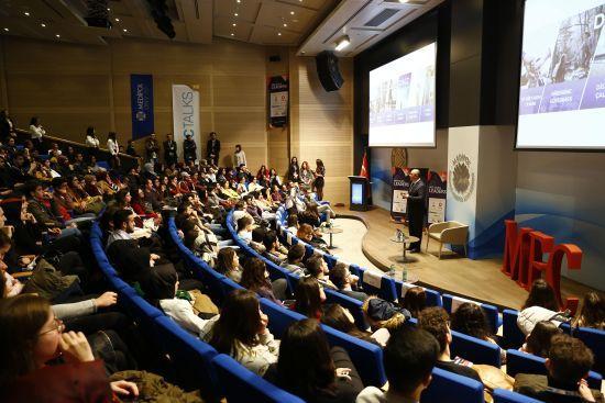 DemirDöküm, MECTALKS Leaders Etkinliğinde Gençlerle Buluştu