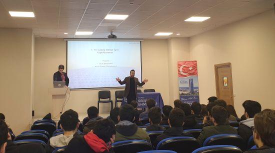 Ayvaz Proje Mühendisleri, Gelişim Üniversitesi Öğrencileriyle Buluştu