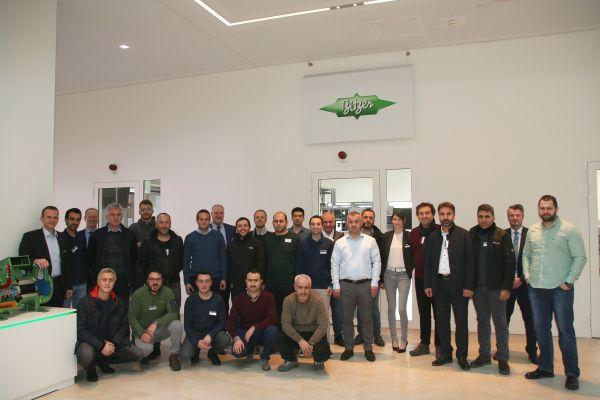 Bitzer Ürün Eğitimi ve Fabrika Gezisi Almanya'da Yapıldı