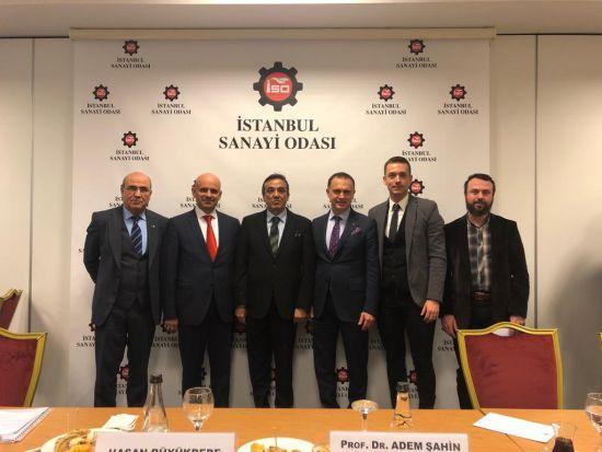 Armatür Derneği, TSE ile İstanbul Sanayi Odası'nda Bir Araya Geldi