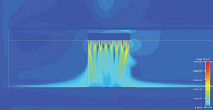 ceviri sekil 1 Hava perdesi hız profili