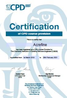 Acrefine, Sertifikalı Profesyonel Mühendislik Eğitim Kurumu Belgesini Yeniledi