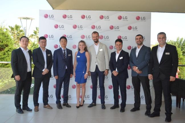 LG Türkiye,İklimlendirme ve Enerji Çözümlerini İş Ortaklarına Tanıttı