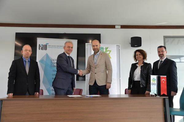 İSKİD Türk-Alman Üniversitesi ile İşbirliği Protokolü İmzaladı