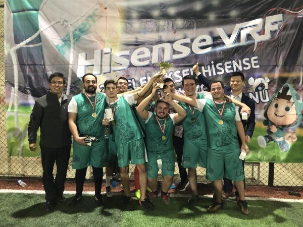 Hisense Turkey Cup Organizasyonunda Final Maçları Oynandı