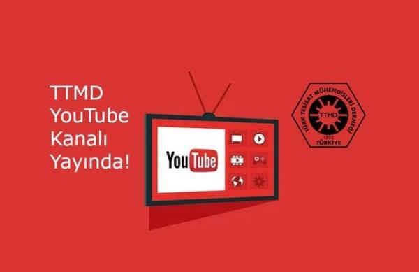 TTMD YouTube Kanalı Yayında