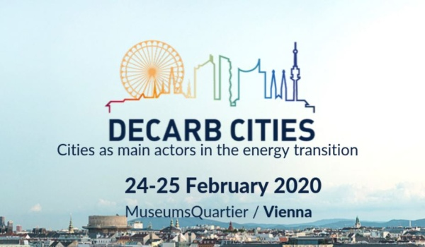 Decarb Cities, 24-25 Şubat 2020'de Viyana'da