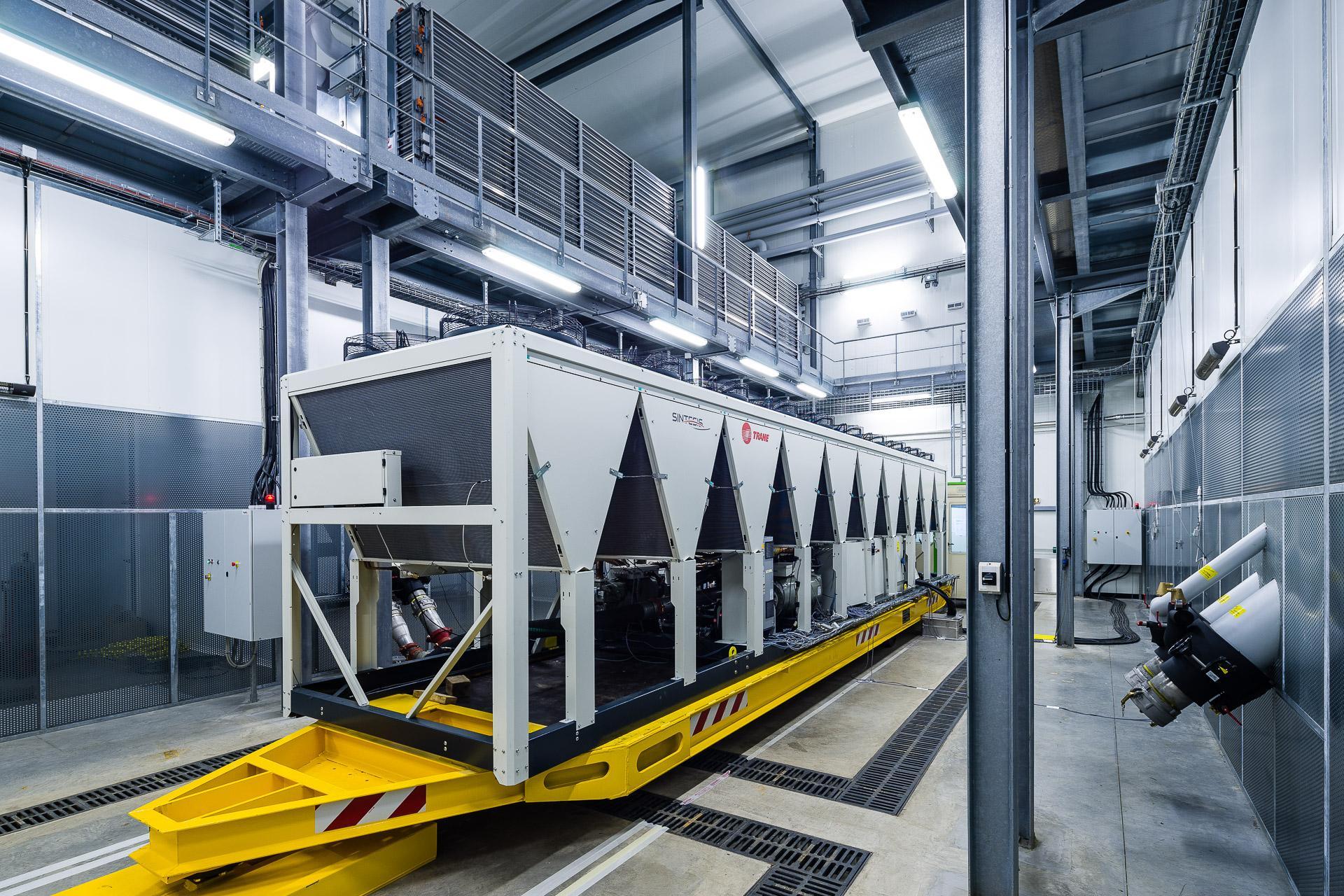 TRANE Avrupa HVAC Araştırma ve Geliştirme Test Tesisi