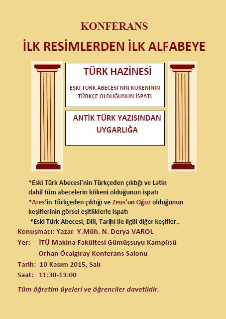 Konferans: Antik Türk Yazısından Uygarlığa