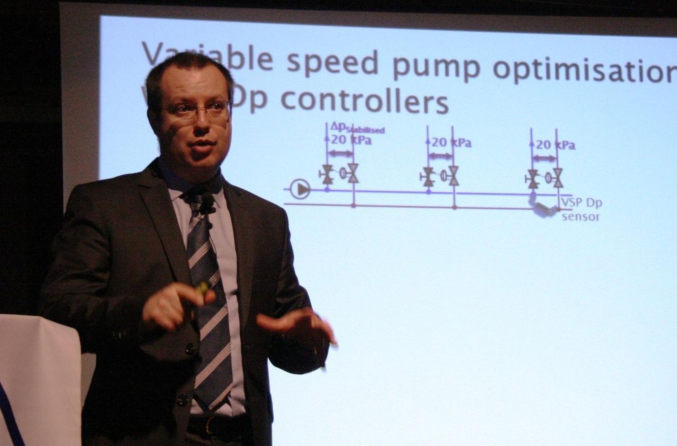 Jean-Christophe Carette, Enerji Tasarrufunda Balans Vanalarının Önemini Anlattı