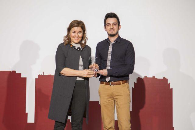 Boğaziçi Üniversitesi Mühendislik Kulübü'nden Hülya Gedik'e Yaşam Boyu Başarı Ödülü
