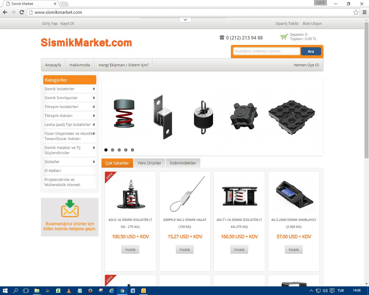 sismikmarket.com Yayında