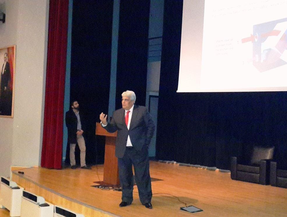 ISKAV Başkanı Vural Eroğlu'ndan Mühendisliğe Giriş Dersi