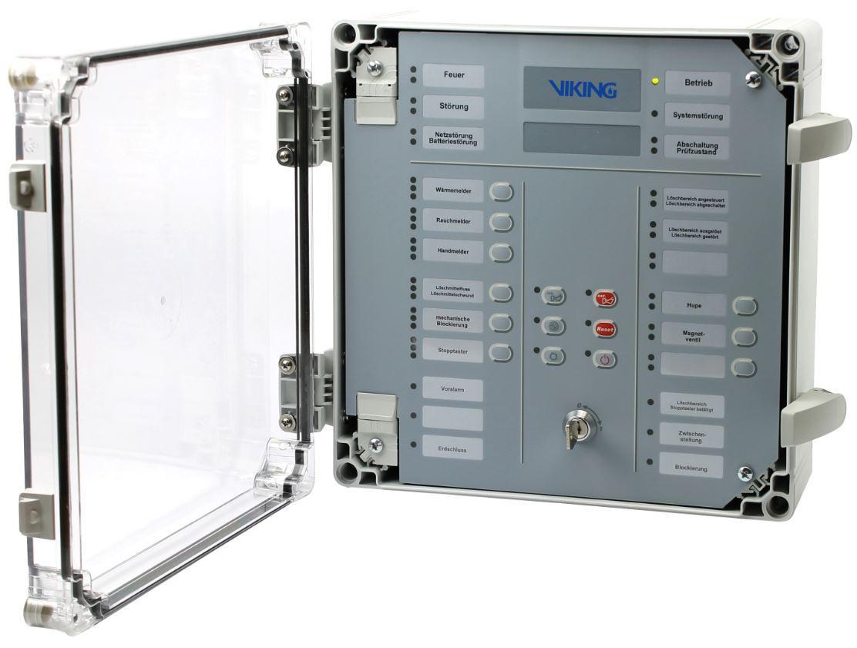 Viking'den Elektrik Panoları için Novec 1230 Gazlı Söndürme Sistemi