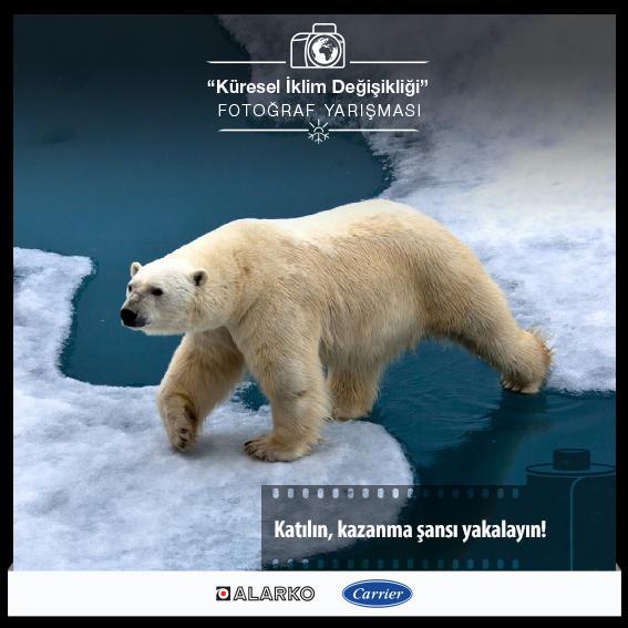 """Alarko Carrier'ın """"Küresel İklim Değişikliği"""" Yarışması Instagram'da"""