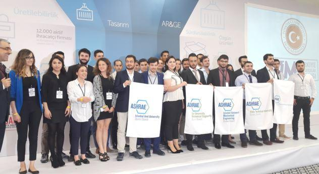 Gazi Üniversitesi ASHRAE Öğrenci Üyeleri Topluluğu, 2016 ASHRAE Öğrenci Dizayn Yarışmasında Dünya Üçüncüsü Oldu