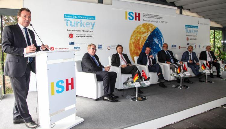 """""""ISH Frankfurt 2017 Fuarı Partner Ülke Türkiye"""" Basın Toplantısı Yapıldı"""