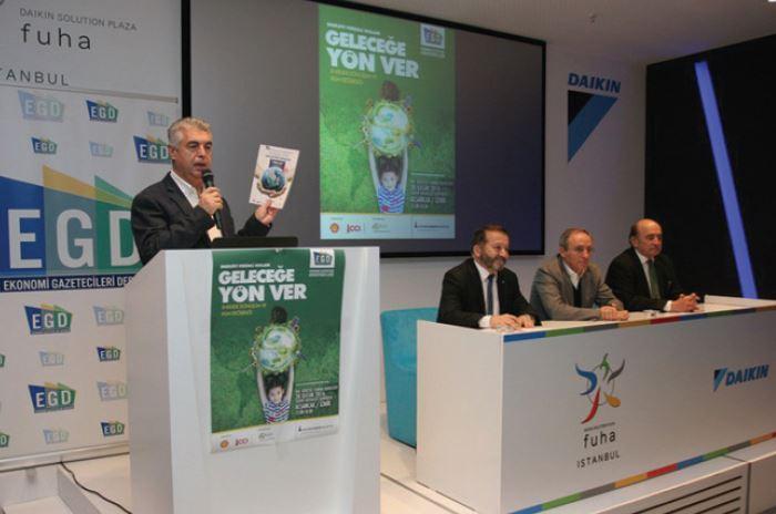 Ekonomi Gazetecileri Derneği (EGD), Küresel Isınma Kitabını Tanıttı