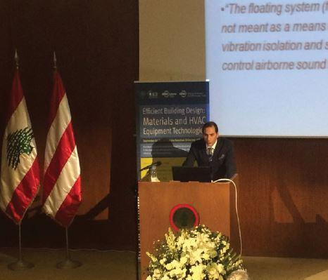 Ulus Yapı'dan Beyrut ASHRAE Konferansı'nda Akustik Semineri