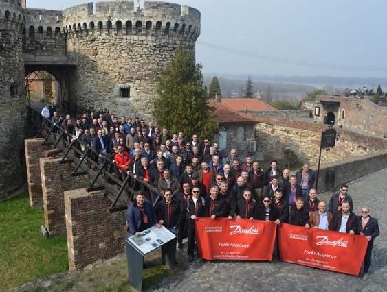 Danfoss, 2017 Yılı 'Türkiye Bayi Toplantısı'nı Belgrad'da Gerçekleştirdi