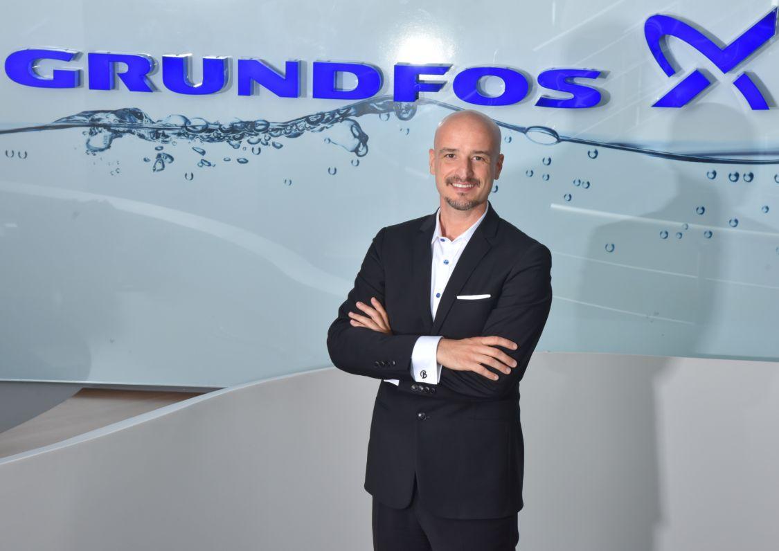 Grundfos Türkiye'nin Yeni Genel Müdürü Burak Gürkan Oldu