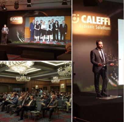 Caleffi Hydronic Solutions Tanıtım Toplantısı Düzenlendi