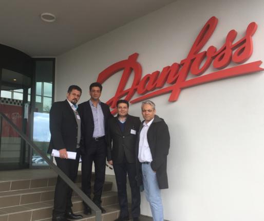 Danfoss, İranlı Bayileri ile Danimarka'da Bir Araya Geldi