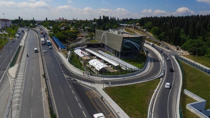 Avrasya Tüneli'nin İşletme ve Bakım Binası, LEED Sertifikasını Almaya Hak Kazandı