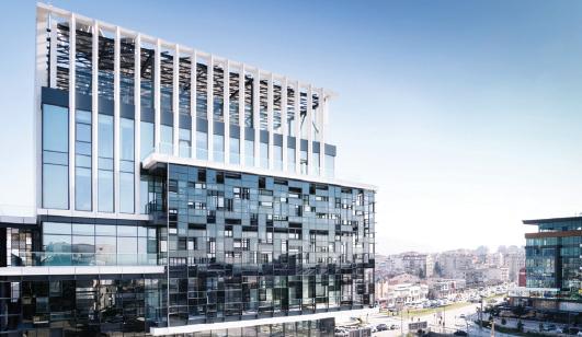 LEED Platin Sertifikalı Bursagaz Genel Müdürlük Binası