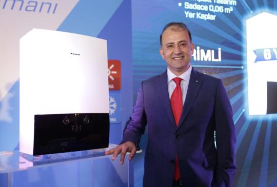 """Daikin Türkiye CEO'su Hasan Önder, """"Isıtmada da dünyanın 1 numarası olmaya odaklandık"""""""