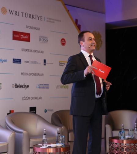 Danfoss Türkiye, Ortadoğu ve Afrika Bölge Başkanı Levent Taşkın, 5. Yaşanabilir Şehirler Sempozyumu'nda Konuştu