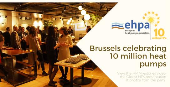 Avrupa'da 10 milyonuncu ısı pompası, Brüksel'de kutlandı