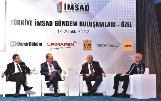 Türkiye İMSAD 'Gündem Buluşmaları'nda Ekonomide Yaşanan Gelişmeler, Sorunlar ve İş Dünyasının Beklentileri Ele Alındı