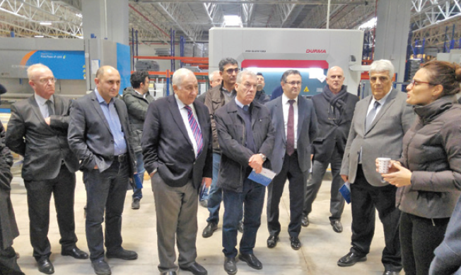 Makine İhtisas OSB Müteşebbis Heyeti Systemair'in Yeni Fabrikasını Ziyaret Etti
