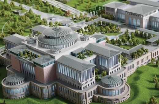 Systemair-Cumhurbaşkanlığı Külliyesi Kütüphane Binası ve Sergi Salonu