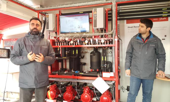 Danfoss Mobil CO2 Eğitim Konteyneri Türkiye'de