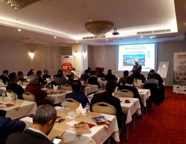 Alarko Carrier, Kahramanmaraş'taki İdari Kurumlara Toshiba VRF Sistemi ve Isı Pompası Eğitimi Verdi