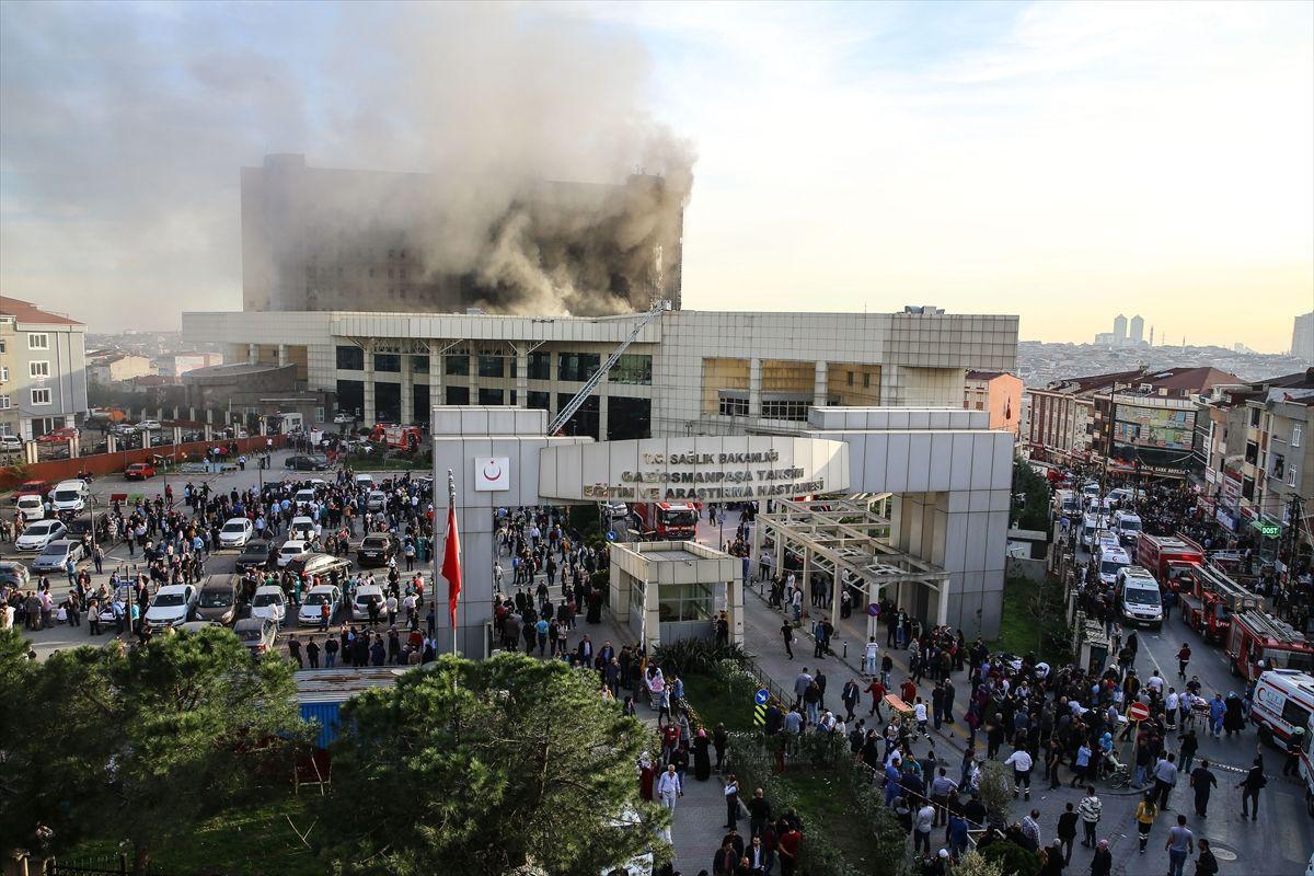 Taksim İlk Yardım Hastanesi Yangınının Ardından İMO Yaptığı Basın Duyurusuyla Yangın Yönetmeliğinin Uygulanmadığına Dikkat Çekti