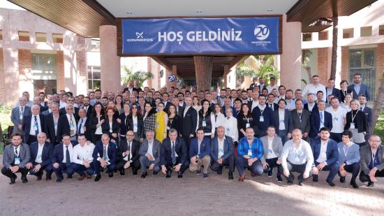 Grundfos Türkiye 2018 Bayi Toplantısı Düzenlendi