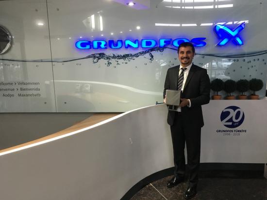Grundfos Türkiye'nin Eğitim Girişimine Büyük Ödül