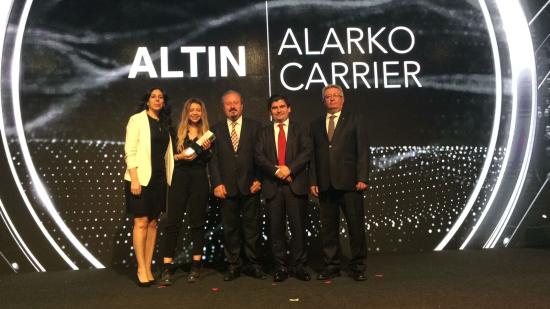 """Social Media Awards'ta """"Altın Ödül"""" Bu Yıl da Alarko Carrier'ın"""