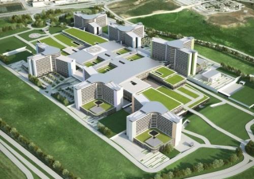 Systemair HSK Etlik Şehir Hastanesi
