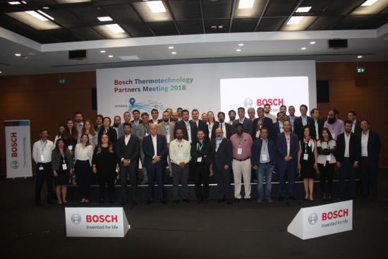 Bosch Termoteknoloji Ortadoğu ve Kafkasya Bölgesindeki Tüm İş Ortakları ile İlk Toplantısını Gerçekleştirdi