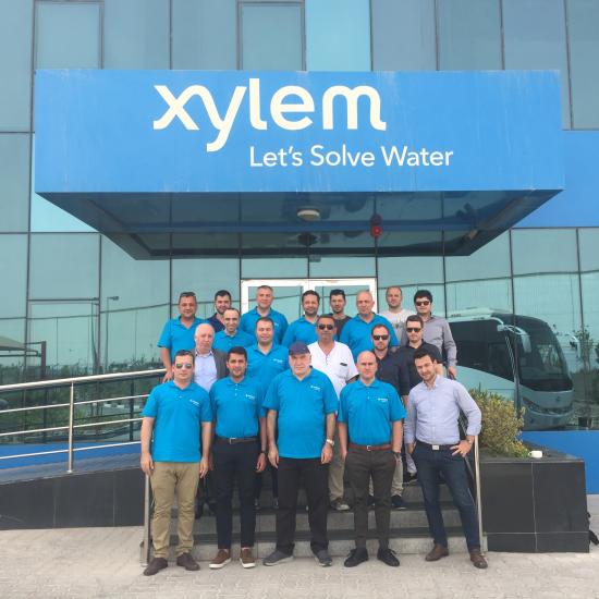 Mekanik Tesisat Profesyonelleri Xylem'in Dubai'deki Fabrikasında Buluştu