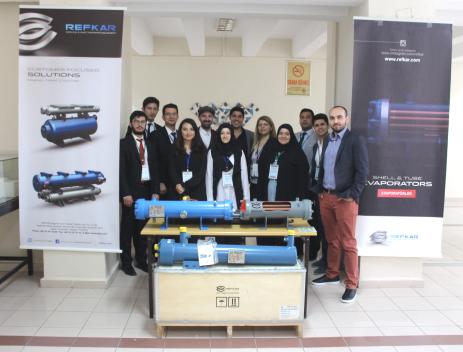 Refkar, Mühendislik Fakültesi Öğrencileri ile Bir Araya Geldi