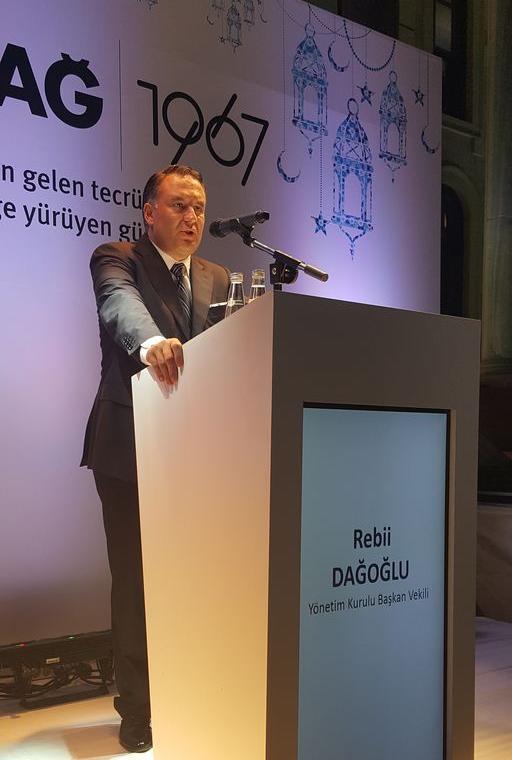 """Aldağ A.Ş., Yönetim Kurulu Başkan Vekili Rebii Dağoğlu: """"Eurovent denetiminde 'minör hataya bile rastlanmamıştır' raporu aldık"""""""