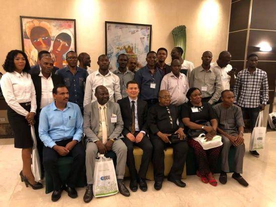 Doğu İklimlendirme Nijeryalı Projecilerle Buluştu