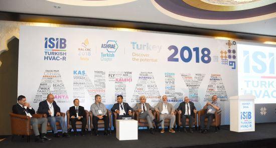 İSİB Sektör Buluşması ve ASHRAE RAL CRC 2018 Etkinliği, Uluslararası İklimlendirme Endüstrisini Bir Araya Getirdi