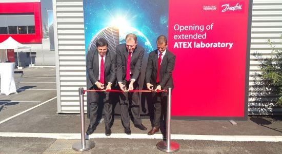 """Danfoss'un Küresel Isınmaya Karşı Yatırımı """"ATEX Kompresör Laboratuvarı"""" Açıldı"""